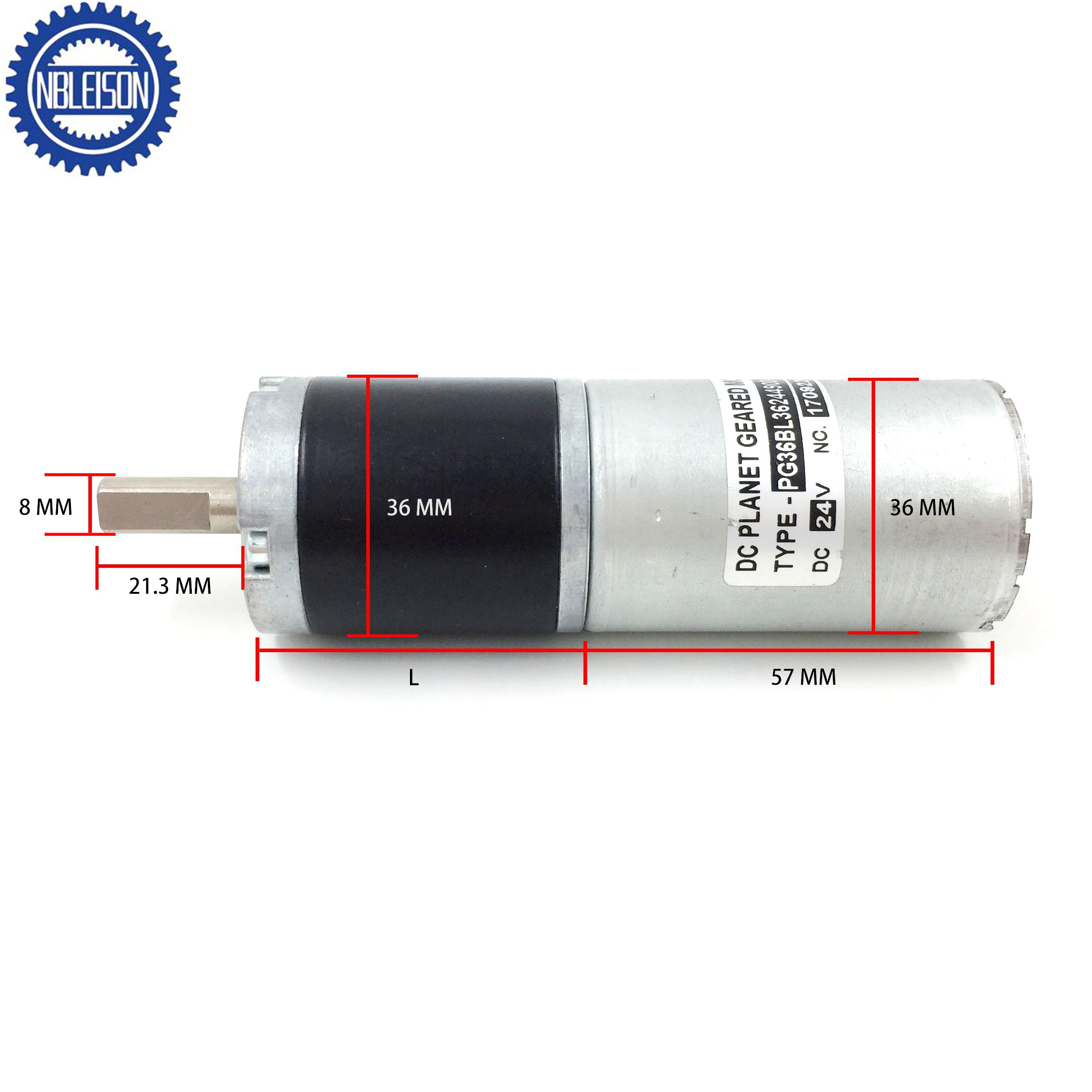 PG36BL36 Dc Planetary Gear Motor(Brushless Type)